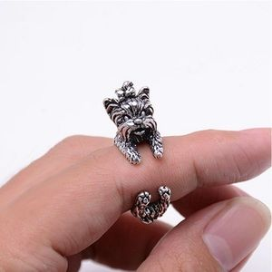Jewelry - Cute Yorkie Wrap Ring